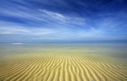Testes padrões bonitos da areia Fotos de Stock Royalty Free