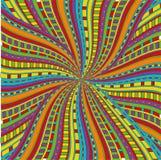 Testes padrões brilhantes étnicos engraçados Imagens de Stock