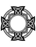 Testes padrões celtas ilustração royalty free