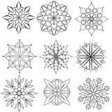 Testes padrões circulares Fotos de Stock