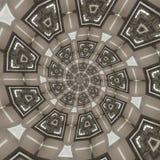 Testes padrões circulares abstratos Fotos de Stock