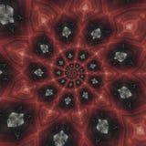 Testes padrões circulares abstratos Imagem de Stock