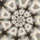 Testes padrões circulares abstratos Fotografia de Stock