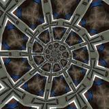 Testes padrões circulares abstratos Fotos de Stock Royalty Free