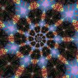 Testes padrões circulares abstratos Foto de Stock Royalty Free