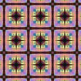 Testes padrões circulares abstratos Imagens de Stock