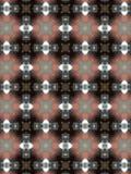 Testes padrões circulares abstratos Foto de Stock
