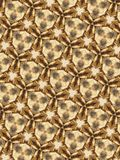 Testes padrões circulares abstratos Fotografia de Stock Royalty Free