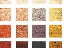 Testes padrões coloridos Imagem de Stock