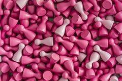 Testes padrões coloridos: conscientização do câncer da mama Foto de Stock