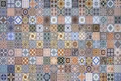 Testes padrões coloridos da telha Foto de Stock Royalty Free