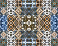 Testes padrões coloridos das telhas Imagens de Stock