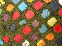 Testes padrões coloridos do bloco Fotografia de Stock Royalty Free