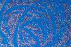 Testes padrões com sparkles Imagens de Stock Royalty Free