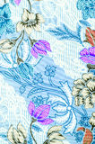 Testes padrões cor-de-rosa bonitos do batik Fotos de Stock Royalty Free