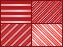 Testes padrões cor-de-rosa das listras fotografia de stock