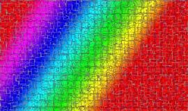 Testes padrões creativos da cor Imagens de Stock Royalty Free