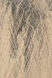 Testes padrões da areia fotografia de stock royalty free