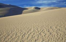 Testes padrões da areia Foto de Stock Royalty Free