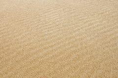 Testes padrões da areia Fotos de Stock Royalty Free
