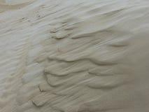 Testes padrões da duna de areia Foto de Stock Royalty Free