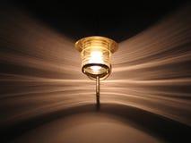 Testes padrões da lâmpada e da luz Fotos de Stock