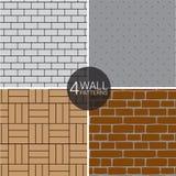 Testes padrões da parede Fotos de Stock
