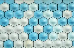 Testes padrões da parede Imagens de Stock Royalty Free