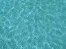 Testes padrões da piscina na água Foto de Stock Royalty Free