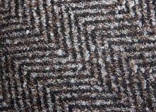 Testes padrões da superfície de matéria têxtil de lã Fotos de Stock Royalty Free