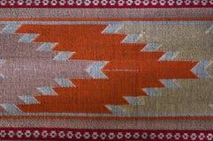 Testes padrões da tela feito à mão tecidos no norte de Tailândia fotografia de stock