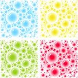 Testes padrões das bolhas ilustração royalty free