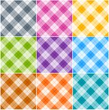 Testes padrões de Argyle Fotos de Stock Royalty Free