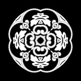 testes padrões de flores Fotografia de Stock Royalty Free