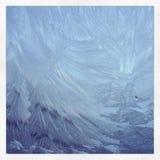 Testes padrões de Frost fotografia de stock