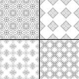 Testes padrões de Swirly Fotos de Stock