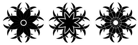 Testes padrões decorativos Fotografia de Stock Royalty Free
