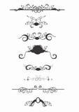 Testes padrões decorativos ilustração stock