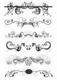 Testes padrões decorativos ilustração royalty free