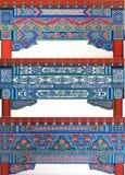 Testes padrões decorativos arquitectónicos Imagem de Stock