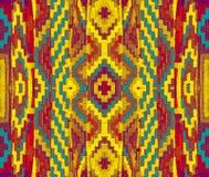 Testes padrões decorativos do fundo, cores brilhantes Imagens de Stock