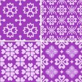 Testes padrões decorativos sem emenda Fotografia de Stock