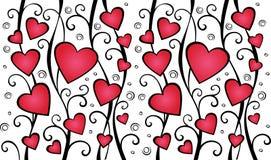 Testes padrões do amor Fotos de Stock