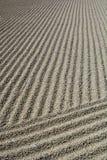Testes padrões do cascalho no jardim do zen Templo budista de Tenryuji Arashiyama kyoto japão Imagens de Stock Royalty Free