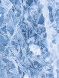 Testes padrões do cristal de gelo Imagens de Stock