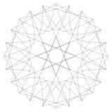 Testes padrões do feriado das estrelas dos flocos de neve e das flores para presentes Imagens de Stock Royalty Free