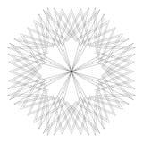 Testes padrões do feriado das estrelas dos flocos de neve e das flores para presentes Imagem de Stock Royalty Free