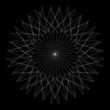 Testes padrões do feriado das estrelas dos flocos de neve e das flores para presentes Imagens de Stock