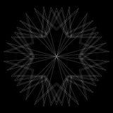 Testes padrões do feriado das estrelas dos flocos de neve e das flores para presentes Imagem de Stock