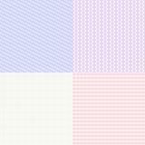 Testes padrões do Guilloche ajustados Moeda para a impressão do certificado e do comprovante, textura do dinheiro da cédula Foto de Stock